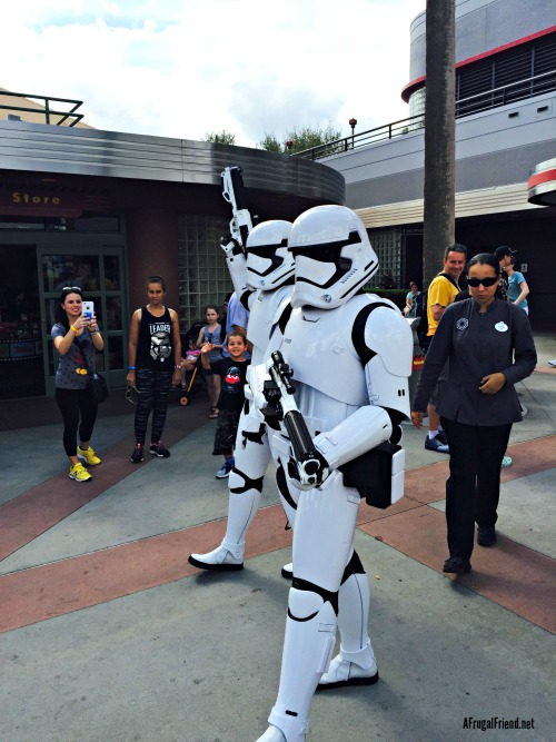 Hollywood Studios Storm Troopers