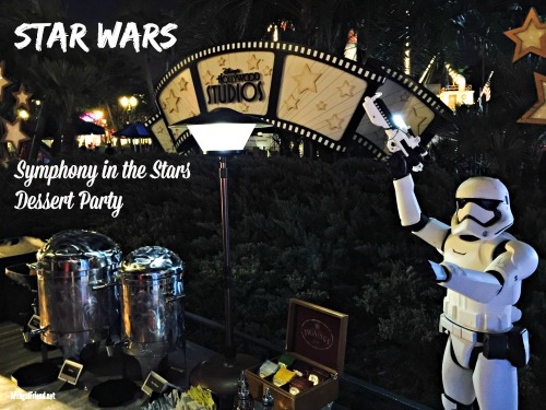 Star Wars Symphony in the Stars Dessert Party