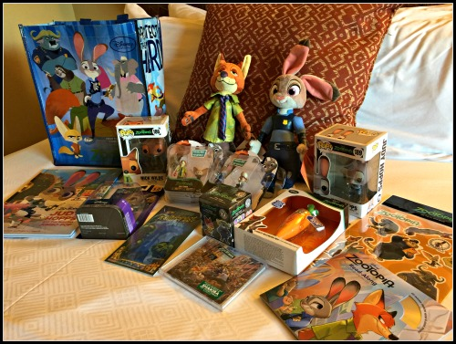 Zootopia Toys and Products