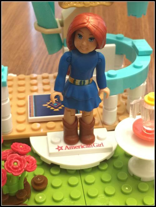 American Girl Mega Bloks Saige