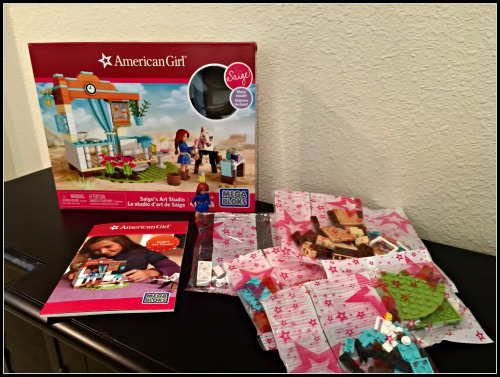 American Girl Mega Bloks contents