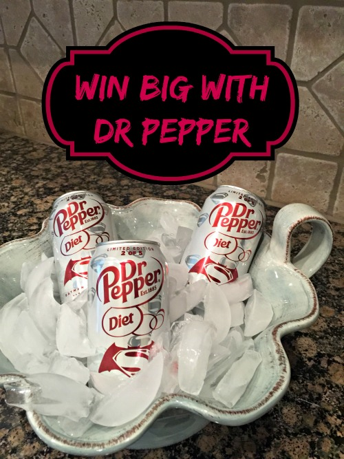 Diet Dr Pepper in Ice