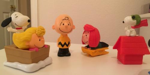 Peanuts McDonald's Toys
