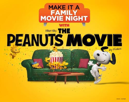 Peanuts Movie Night