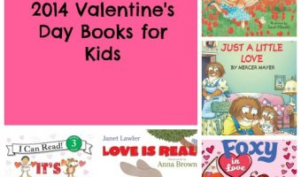 New Valentine's Day Childrens Books for 2014 (Some With Valentine Cards Included)