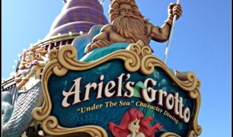 Ariel's Grotto Character Dining Review – Top Notch Food, Amazing View, and Princesses Galore