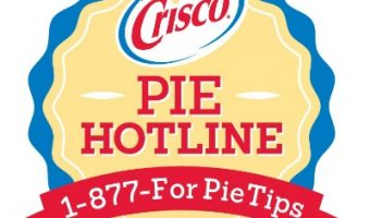 Crisco Pie Hotline – Resource for Bakers this Holiday Season