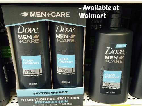 Dove Men + Care products