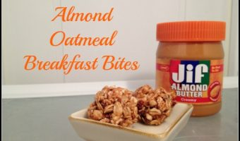 Mixing Up Mealtime with Easy No-Bake Almond Oatmeal Breakfast Bites – LOVE!