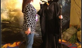 My Run-In With Maleficent at Disneyland! In Theaters This Friday