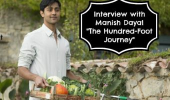 My Interview with Manish Dayal from The Hundred-Foot Journey