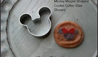 Mickey Mouse Shaped Cookie Cutter – only 60 cents Shipped!
