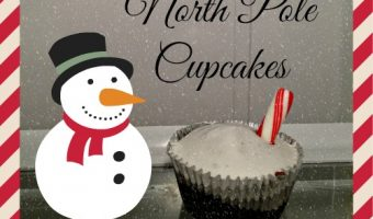 North Pole Cupcakes – Quick & Easy Christmas Cupcake Idea