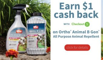 Ortho Animal B Gon Animal Repellent – A Must for Spring!