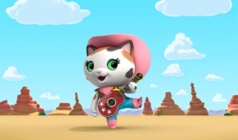 "Disney Junior's newest animated series ""Sheriff Callie's Wild West"""