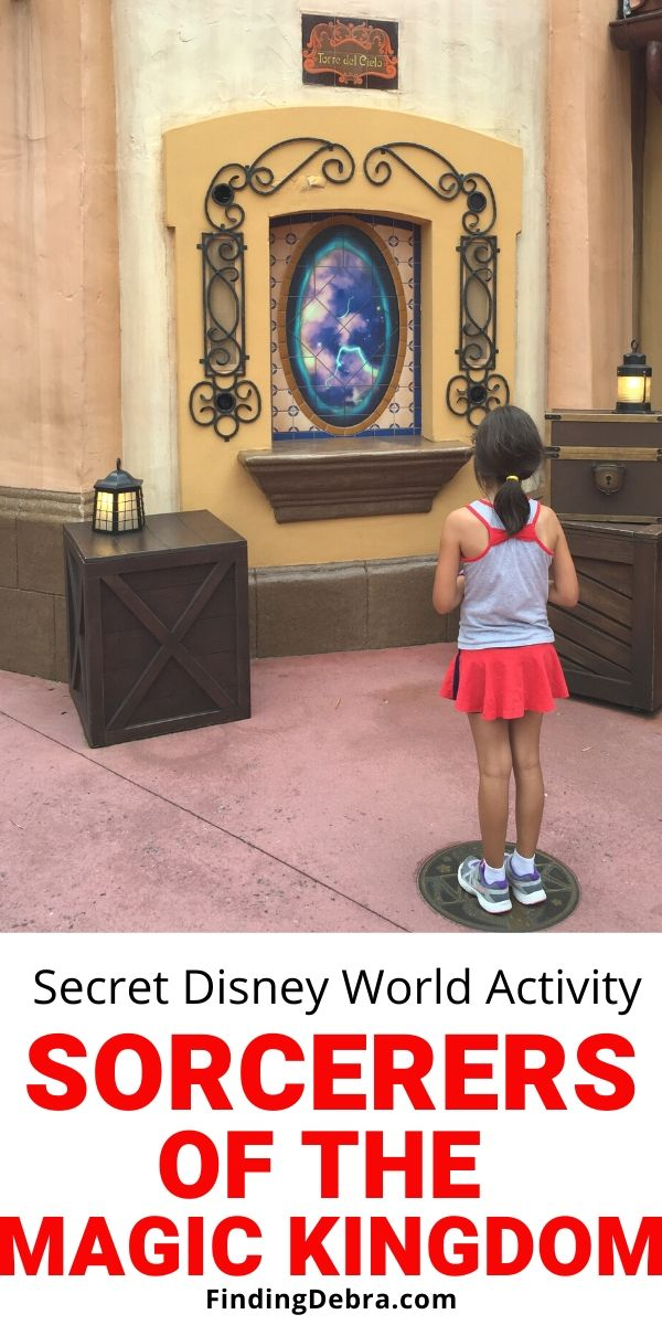 Sorcerers of the Magic Kingdom - secret activity at Walt Disney World