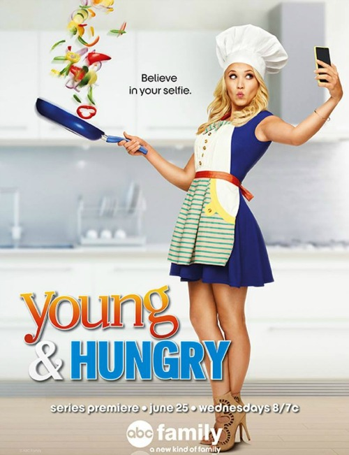 I Met the Cast of Young & Hungry - Finding Debra