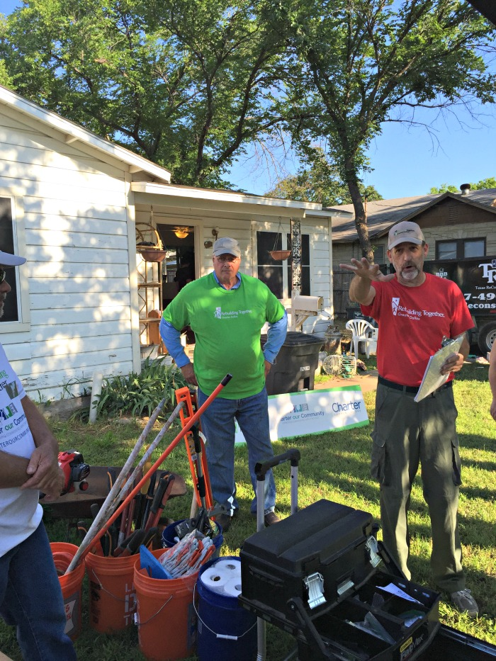 Charter our Community partnering with Rebuilding Together