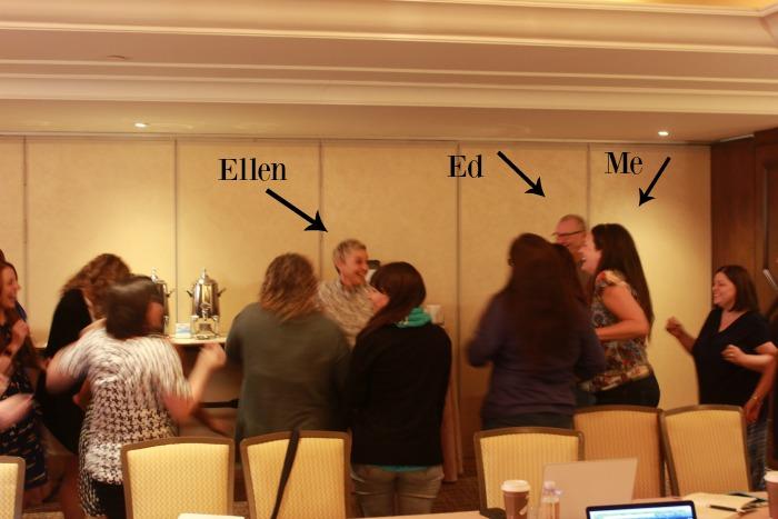 Dancing with Ellen DeGeneres