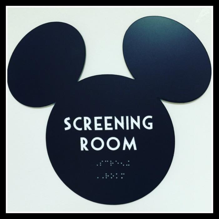Disney Screening Room