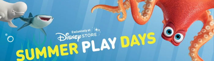 Disney Store Summer Play Days