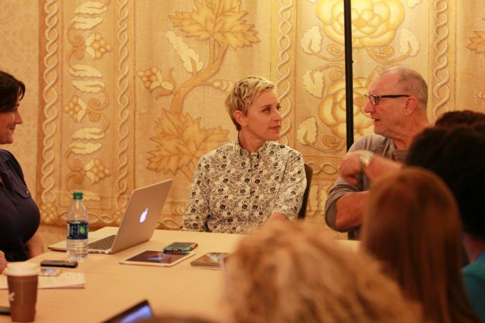Finding Dory Ellen DeGeneres interview