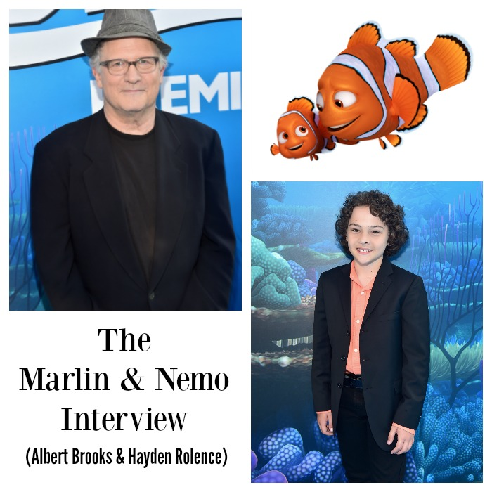 Finding Dory Interview with Albert Brooks and Hayden ...