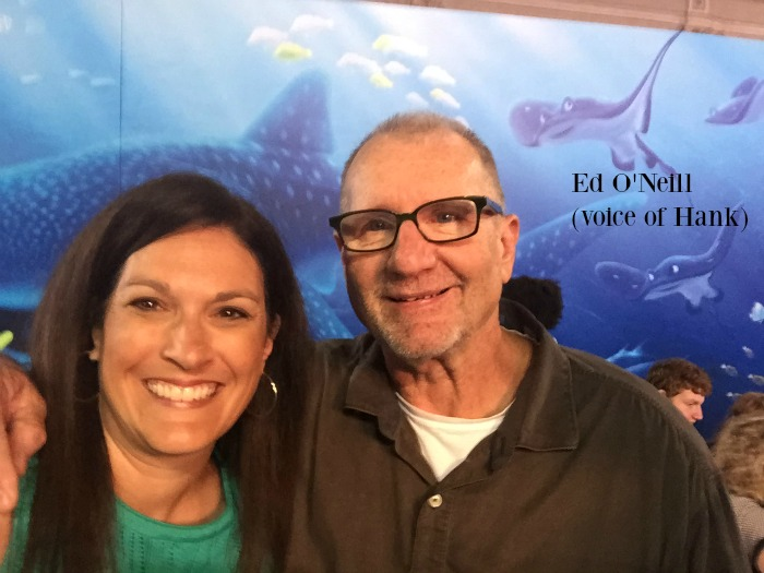 Finding Dory Premiere Ed O'Neill