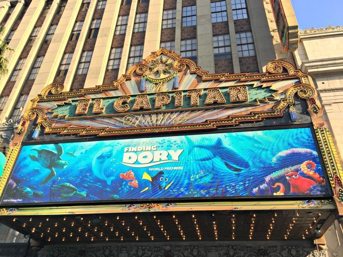 Finding Dory Premiere El Capitan Theatre