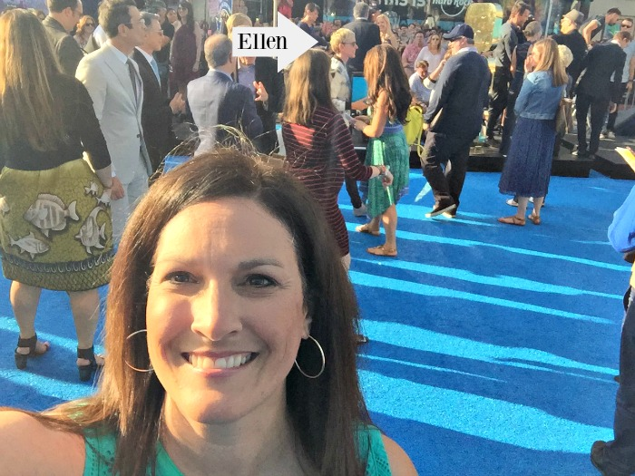 Finding Dory Red Carpet Experience