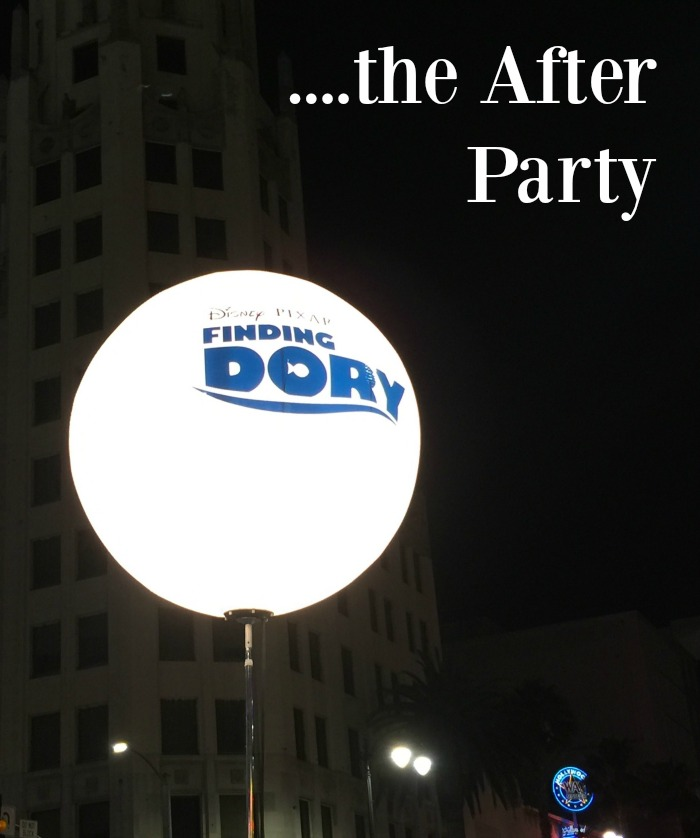 FINDING DORY World Premiere After Party