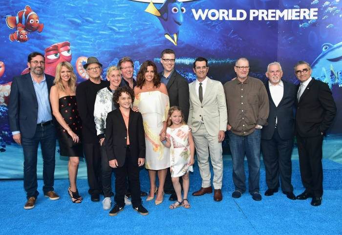 Finding Dory World Premiere Cast