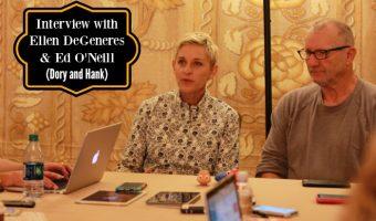 Interview with Ellen DeGeneres and Ed O'Neill (We Danced)!!