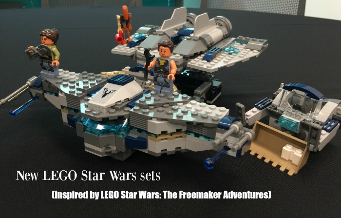 LEGO Star Wars The Freemaker Adventures Lego sets