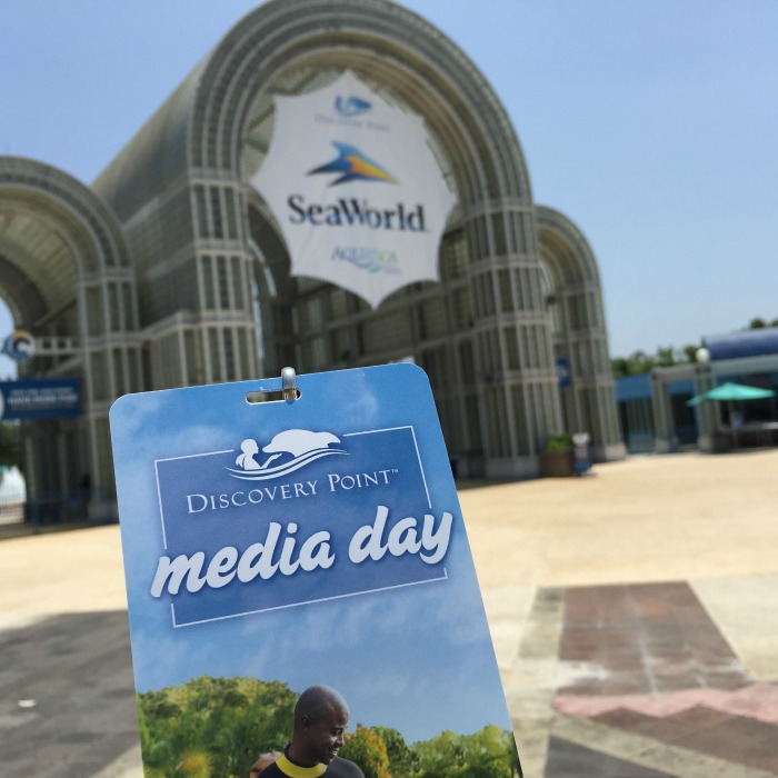 SeaWorld Disovery Point Media Day