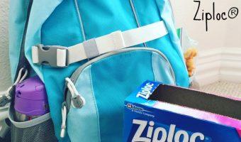 Top 4 Ways We Go Back to School with Ziploc® Brand
