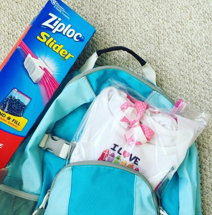 Ziploc Back to School Accidents Happen
