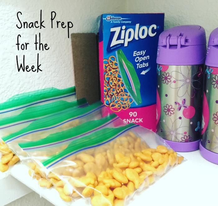 Ziploc Snack Storage