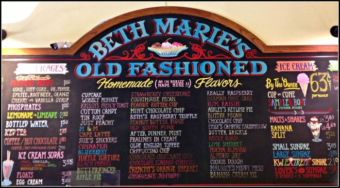 Beth Marie's Ice Cream Texas