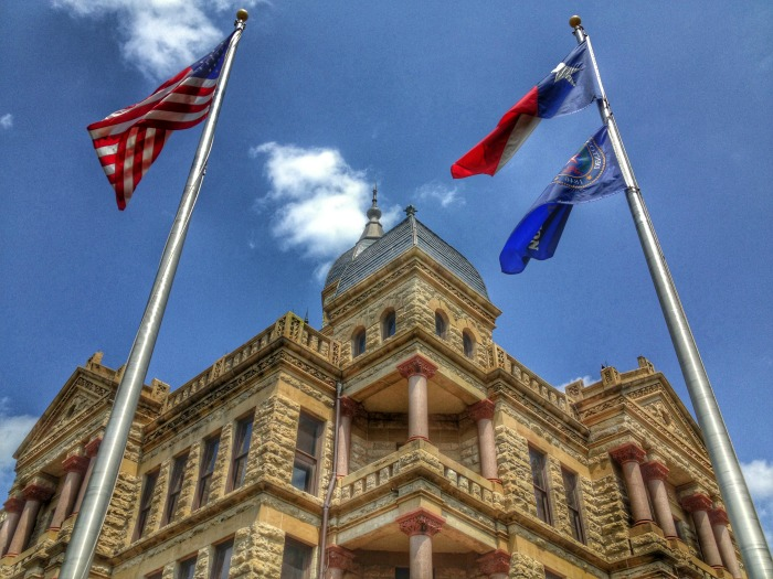 Denton County Texas Courthouse