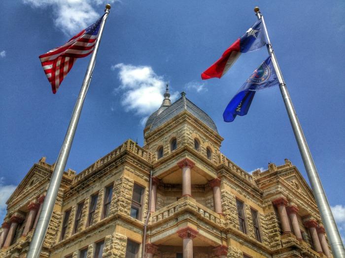 Denton County Texas Courthouse