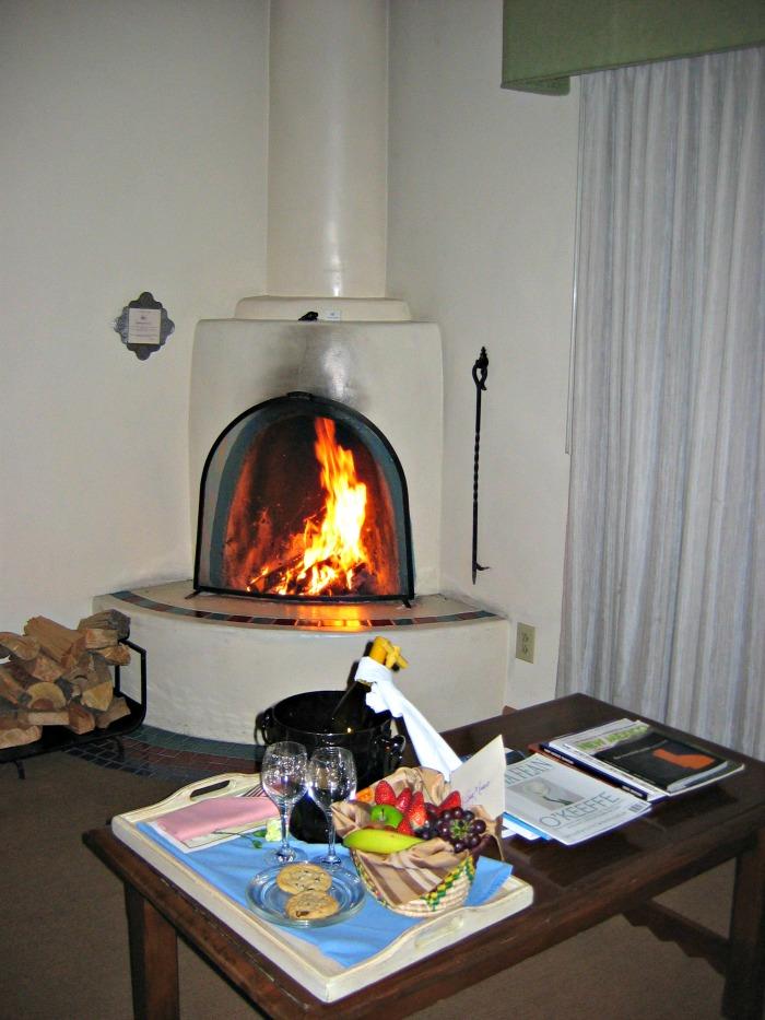 Eldorado Hotel Kiva Fireplace