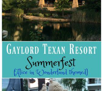 Experience Summerfest at Gaylord Texan Resort