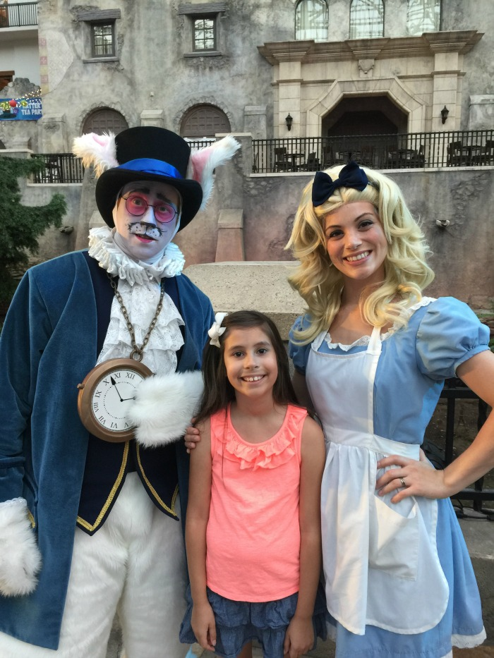 Gaylord Texan Summerfest Characters