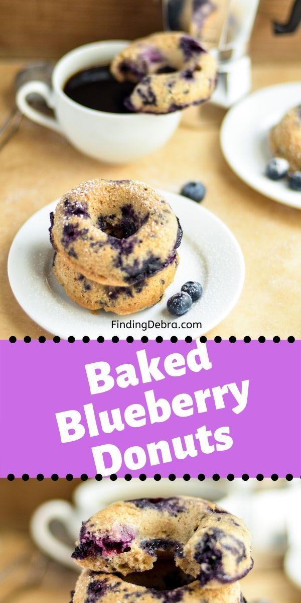 Whole Wheat Baked Blueberry Donuts Recipe