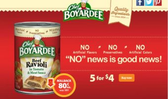 Check out this Chef Boyardee Deal at Walmart