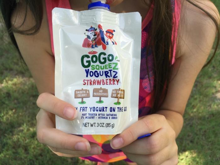 GoGo squeeZ YogurtZ pouches