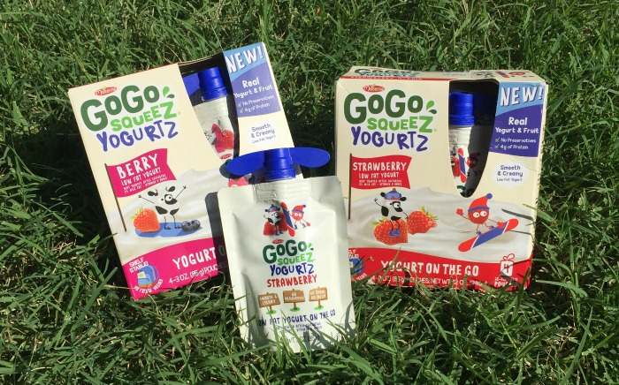 GoGo squeeZ YogurtZ varieties