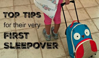 Tips for their Very First Sleepover