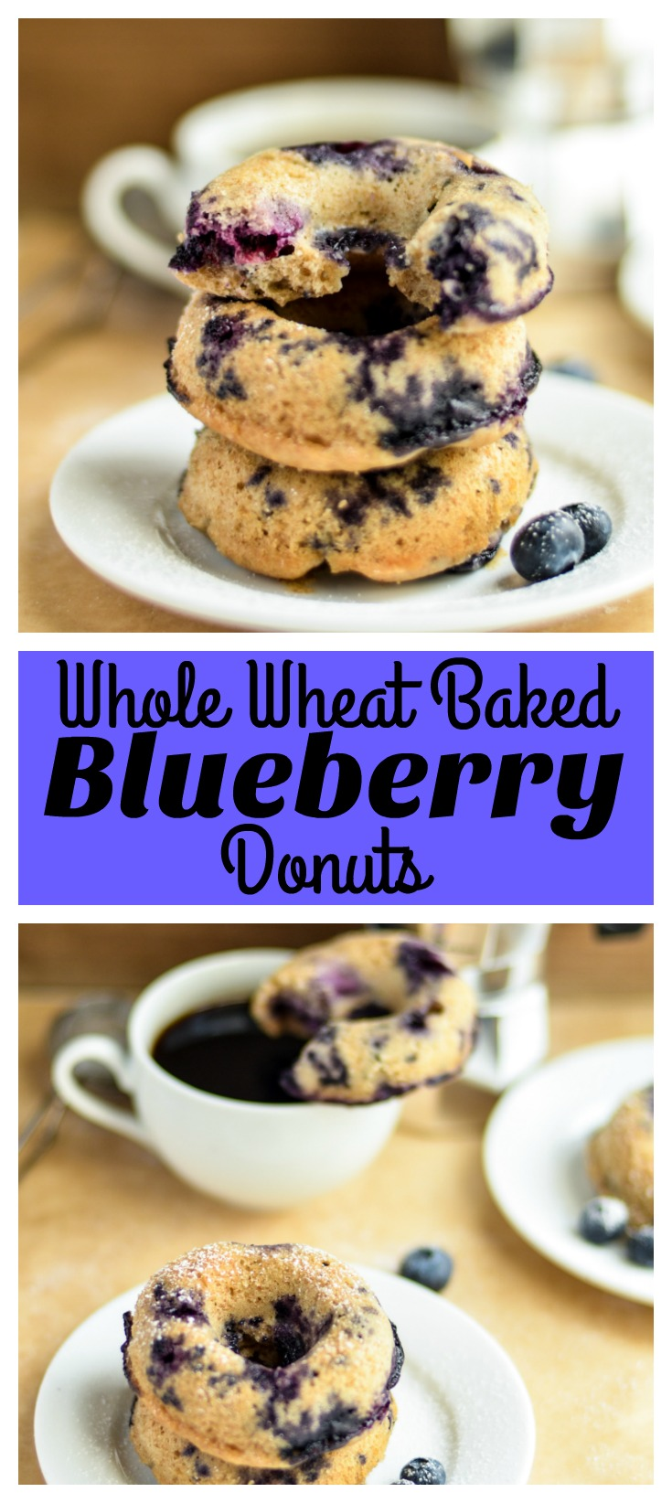 Whole Wheat Baked Blueberry Donuts Recipes